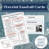 Child Development Theorist Baseball Card Project
