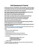 Child Development Theorist Research Project