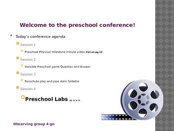 Child Development Unit 5 Day 4 power points (2) Preschool Physical Development
