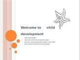 Child Development unit 1 day 1 The value of children power point