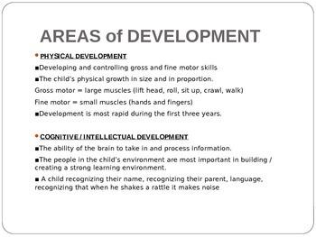 Child Development unit 1 day 6 power point child development theorist overview