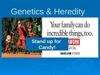Child Development unit 2 day 1 power point Genetics and Heredity