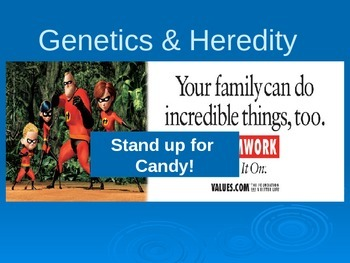 Child Development unit 2 day 1 power point Genetics and Heredity