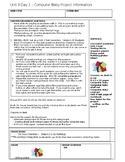 Child Development unit 3 day 1 lesson plan Computer baby Process