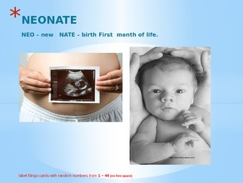Child Development unit 4 day 1 power point The Neonate or newborn