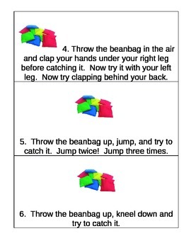 Child Development bean bag activity (also in un4 bundle and unit 4 day 5)