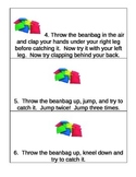 Child Development bean bag activity (also in un4 bundle an
