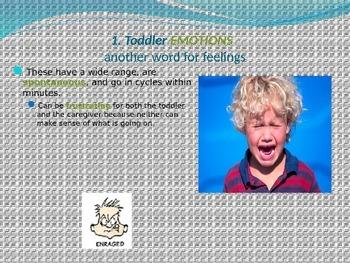 Child Development unit 5 day 2 power point toddler emotional development