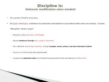 Child Development unit 6 day 1 power point Understanding misbehavior