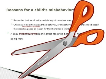 Child Development unit 6 day 1 power point Understanding misbehavior
