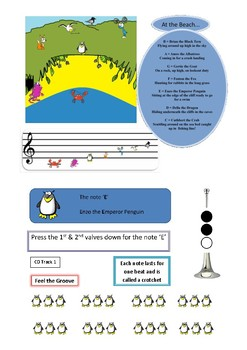 Child-Friendly Note Reading & Trumpet Tutor