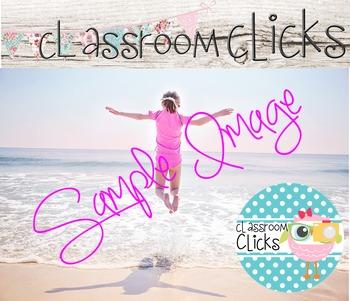 Child Jumps Beach Waves Image_154:Hi Res Images for Bloggers & Teacherpreneurs