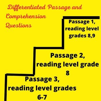 Child Labor Differentiated Reading Passage March 3