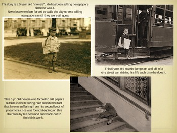 Child Labor PPT - Lewis Hine Photography