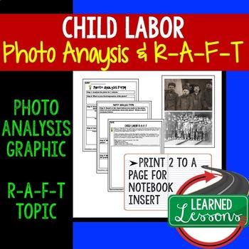 Child Labor Photo Analysis Activity