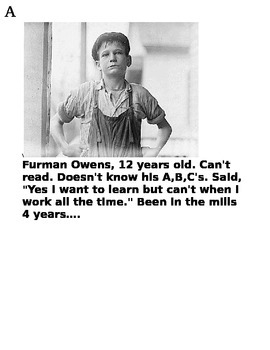 Child Labor Photo Gallery