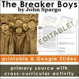 Child Labor Primary Source: The Breaker Boys