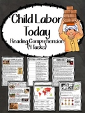 Child Labor Today- Articles, Map, Primary Sources, Questio