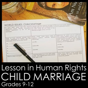 Child Marriage Lesson