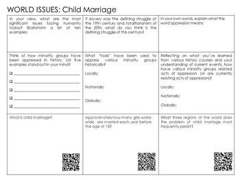 Child Marriage Lesson