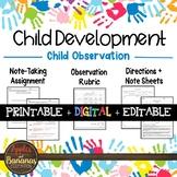 Child Observation - Child Development Activity