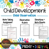 Child Observation - Child Development Activity