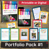 Child Portfolio & Learning Journal Templates for Childcare