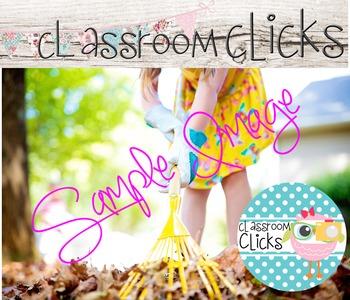 Child Raking Fall Leaves_233:Hi Res Images for Bloggers & Teacherpreneurs