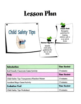 Child Safety Tips Lesson
