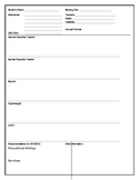 Child Study Evaluation Record Form