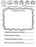 Child Survey for Parent Teacher Conferences