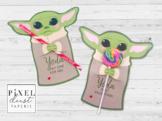 Child Valentine's Day Treat Holder Cards