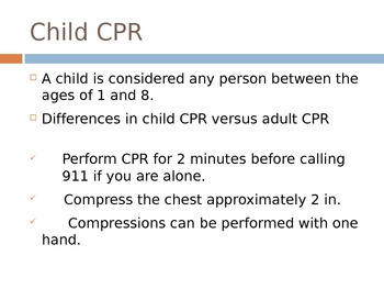 Child and Infant CPR and Choking: American Heart Association Guidelines