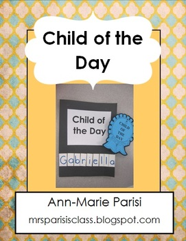 Child of the Day FREEBIE