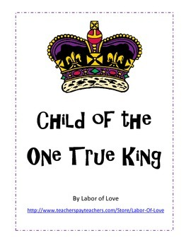 Child of the King Bible Lesson Character trait Love