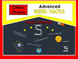 Child's Choice Writing Practice:  ABC SPACE- Advanced