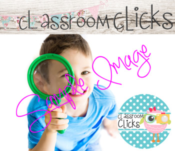 Child w/ Magnifying Glass Image_318:Hi Res Images for Bloggers & Teacherpreneurs