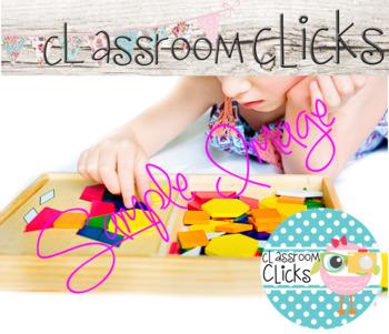 Child w/ Pattern Blocks Image_317:Hi Res Images for Bloggers & Teacherpreneurs
