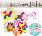 Child with Pattern Blocks Image_295:Hi Res Images for Bloggers & Teacherpreneurs