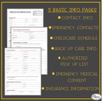 Childcare Enrollment Form