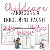 Childcare Handbook and Enrollment Bundle