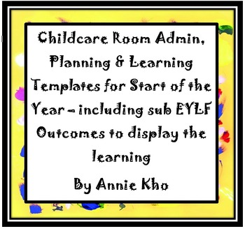 Childcare Room Admin and Planning