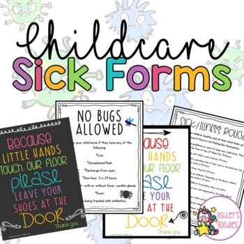 Childcare Sick Forms