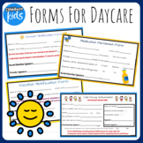 Childcare and Preschool Forms