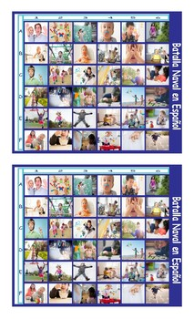 Childhood Activities Spanish Legal Size Photo Battleship Game
