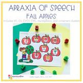Childhood Apraxia of Speech {Apples} smash mats