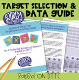 Childhood Apraxia of Speech - Choosing Targets & Data Collection Guide