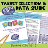 Childhood Apraxia of Speech - Choosing Targets & Data Coll