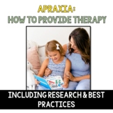 Childhood Apraxia of Speech: Research & How To Provide Therapy