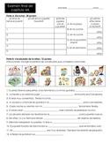 Childhood Assessment- La niñez (Grammar- Imperfect) (Reali